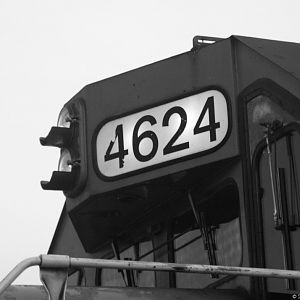 GTW 4624 Numbers
