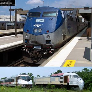 AMTRAK Then & Now