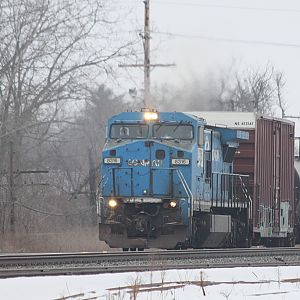 Still in Conrail paint NS 8316 Chesterton, IN