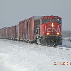 CN 852 on its Way Home