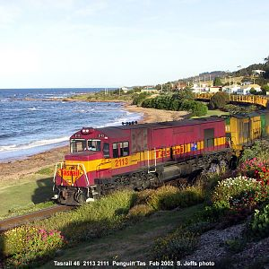 Steve's down-under train shots