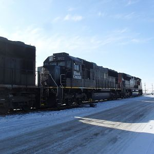 CN Chappell train gearing up