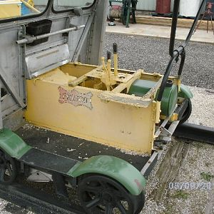 Frisco handcar/power