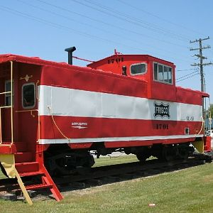 Frisco Caboose, Columbus, KS