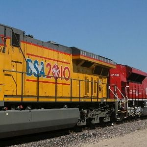 UP 2010 and 1988 at Parsons, KS