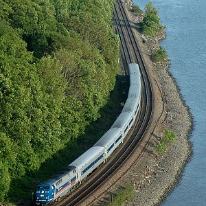 Metro North at Bear Mountain Bridge