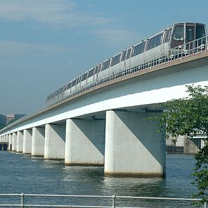 DC Metro Train crossing Potomac