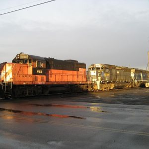 All 4 EWG locos in Davenport WA