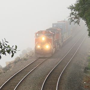 Westbound In The Fog