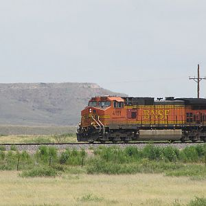 BNSF 4151 West New Mexico