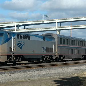 Amtrak Empire Builder PDX Section in PDX