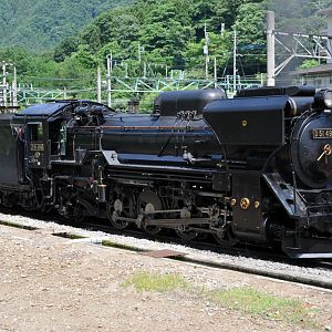 JR-East model D51, D51498 at Minakami #1