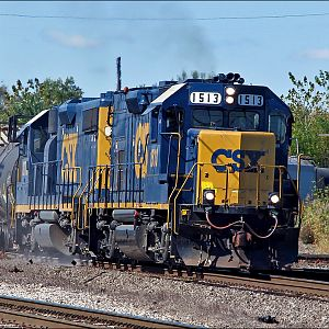 CSX GP15T in Dolton