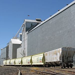 WA Grain Train at St. John, WA