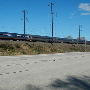 Amtrak Holiday Extra at Bristol, Pa