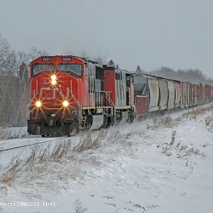 CN 853 on the Move