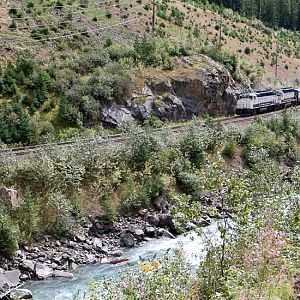 Rocky Mountaineer Climbing to Rodgers Pass