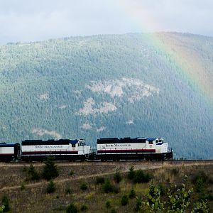 Rocky Mountaineer Rainbow