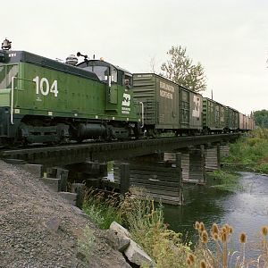 WWV Crosses Mojonnier Creek