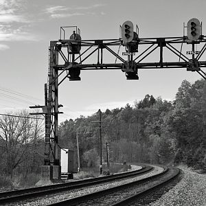 C&O Signals at Callaghan, WV