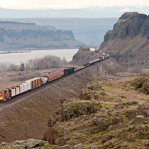 Eastbound Passing Cliffs