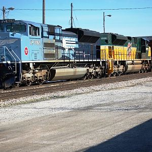 UP SD70s