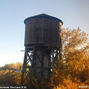 old  G.N.  watertank