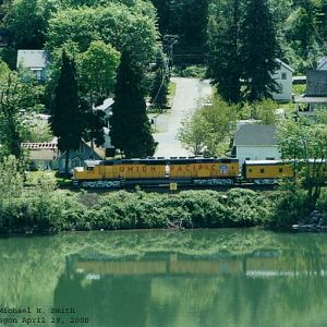 UP 6936 north at Oregon City