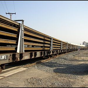 LBFX continuous welded rail cars