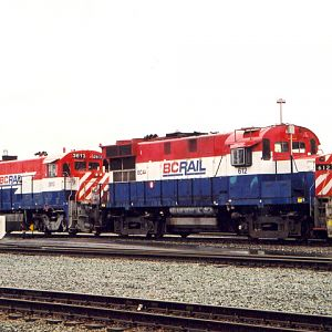 North Vancouver Yard Engines