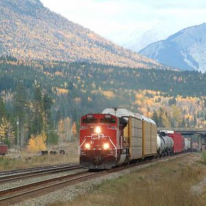 CP 9300 West at Donald BC