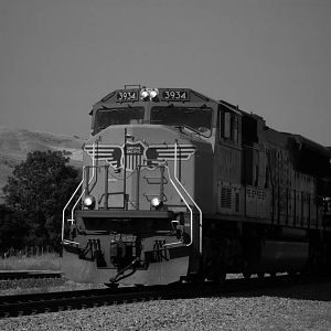 UP SD70M at Caliente