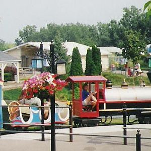 Park train at Seabreeze