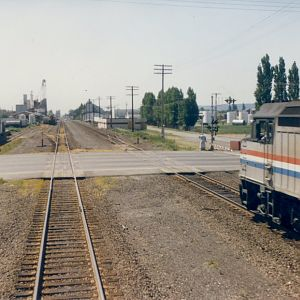 Amtrak meet in Kent, WA
