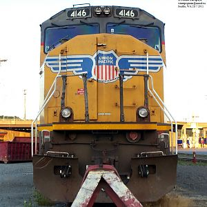 UP 4146 SD70M