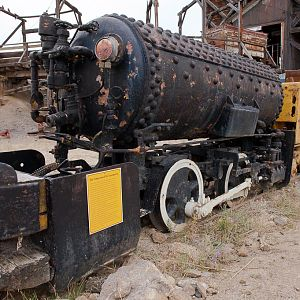 Compressed Air Locomotive