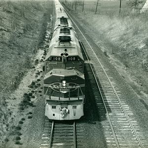 SantaFe Passenger Train