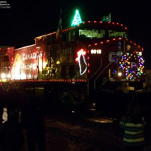 2011 CP Holiday train