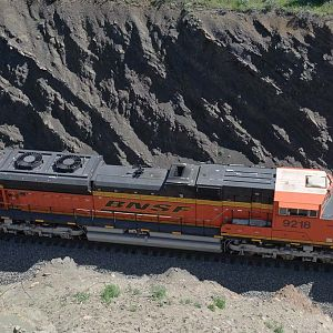 SD70ACe Roof Details
