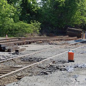 Woodlawn Jct. Track Upgrades