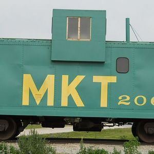 MKT 206 Caboose, Side View
