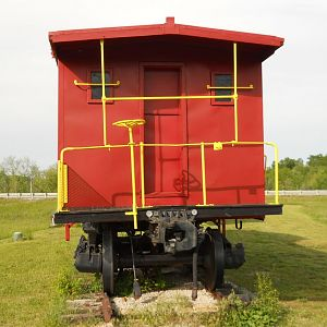 Endview of Caboose 1150