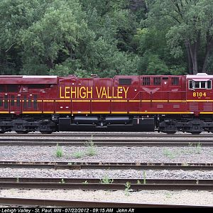 NS 8104 Lehigh Valley