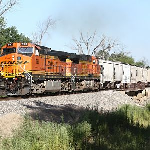 Mixed Freight at Peruque Creek Road