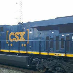 CSX Boxcar logo engine