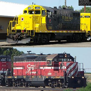Nothern Pacific GP9s