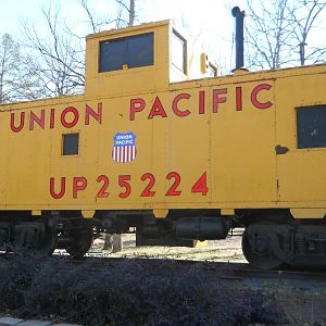 UP 25224 Caboose
