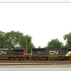 Canadian National at Joliet Ill.