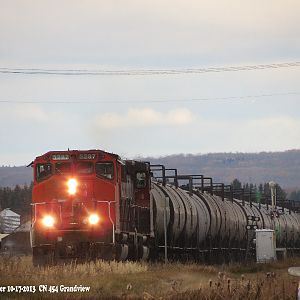 CN 454 with Old SD40-2's