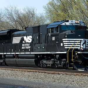 Norfolk Southern Bar Code llll